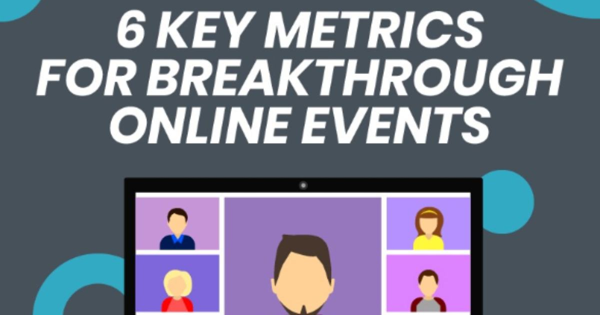 Six Key Metrics for Measuring Online Event Success [Infographic]