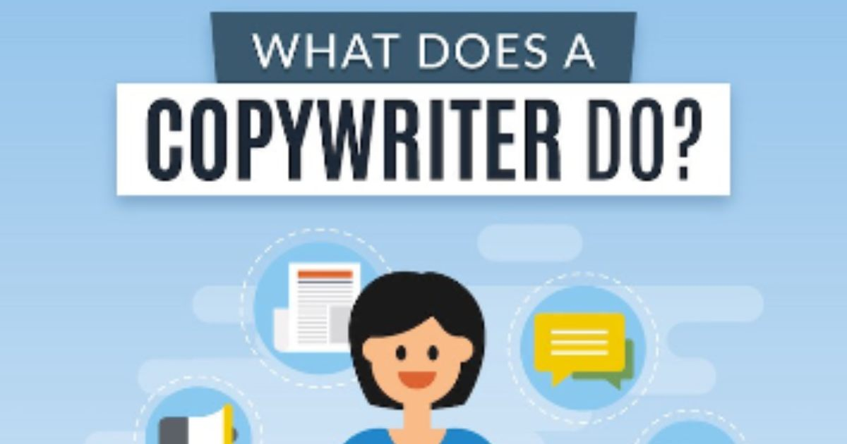 What Does a Copywriter Do? [Infographic]