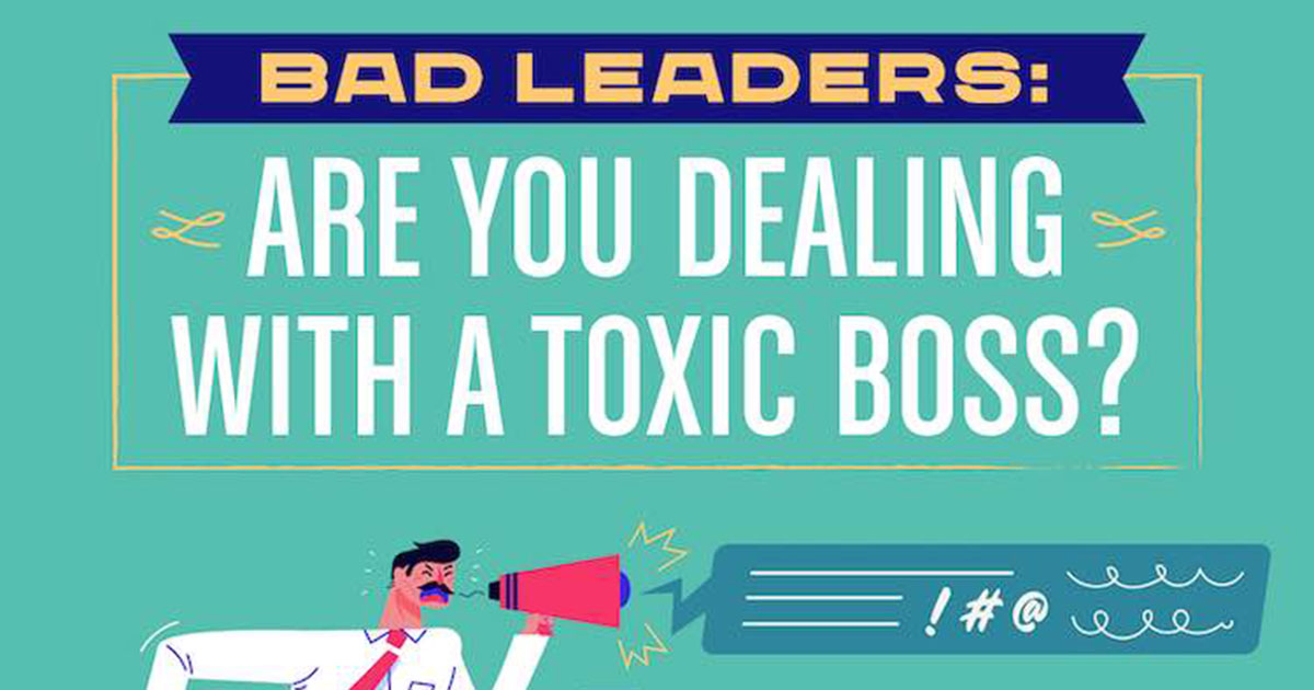 How to Tell If You Have a Toxic Boss [Infographic]