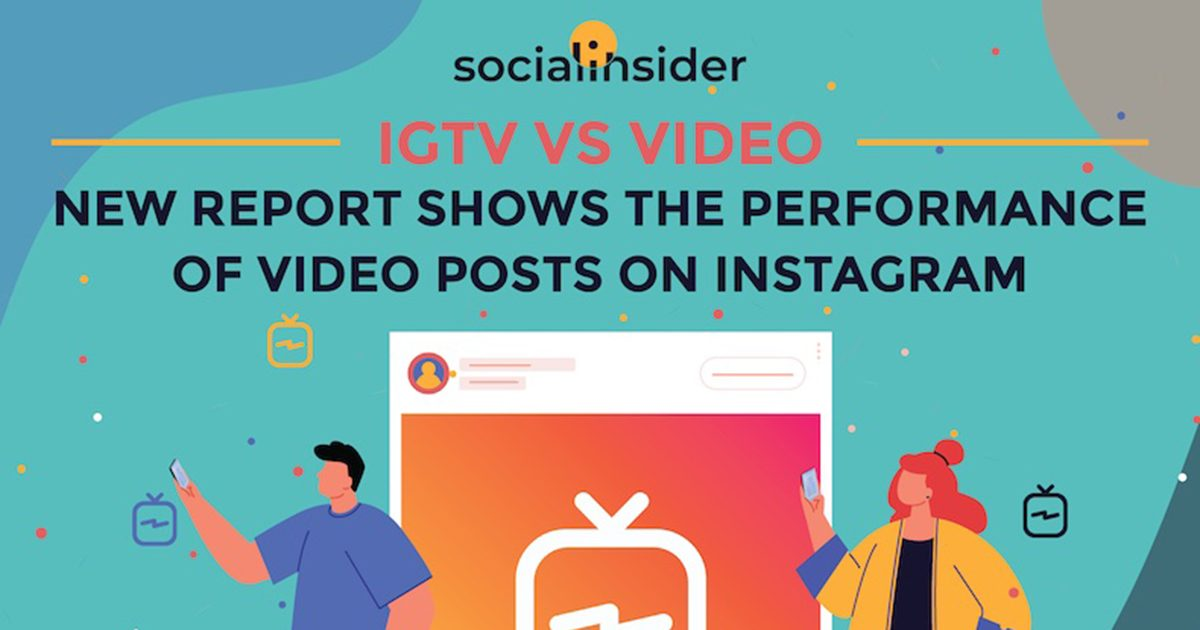 On Instagram, Video vs. IGTV Posts: Which Perform Better? [Infographic]