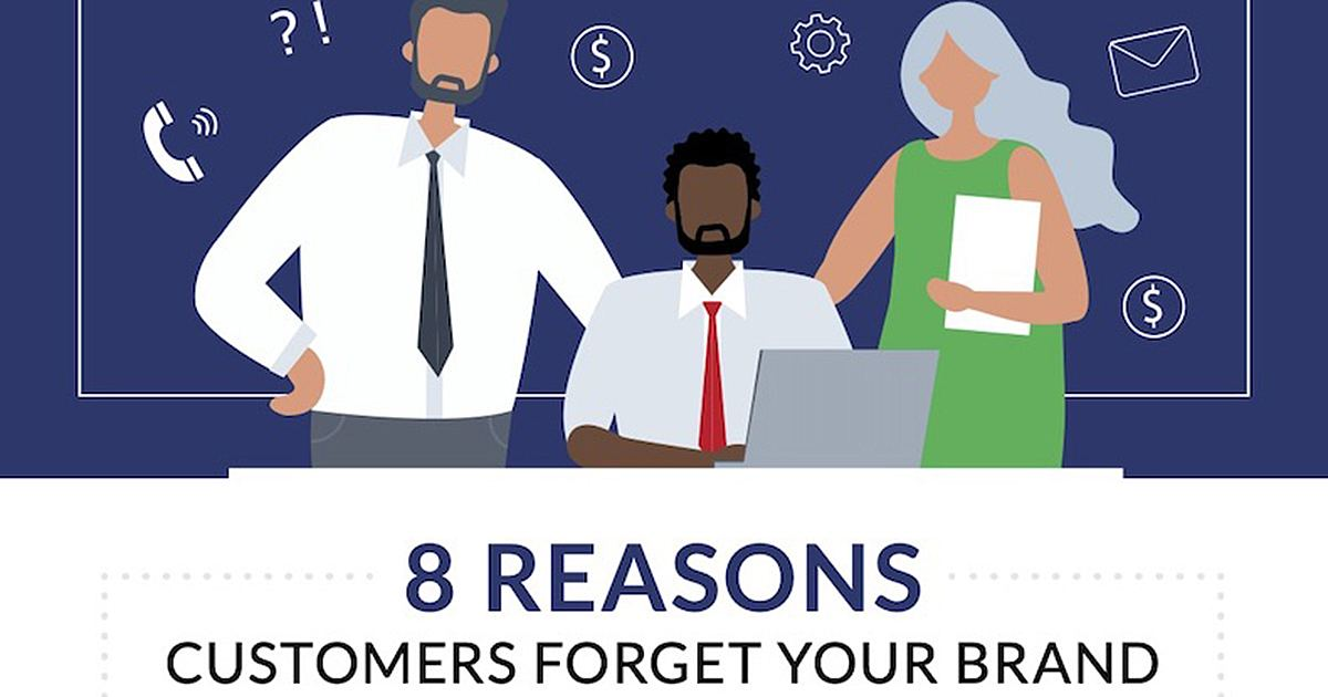 Why Is Your Brand Forgettable? [Infographic]