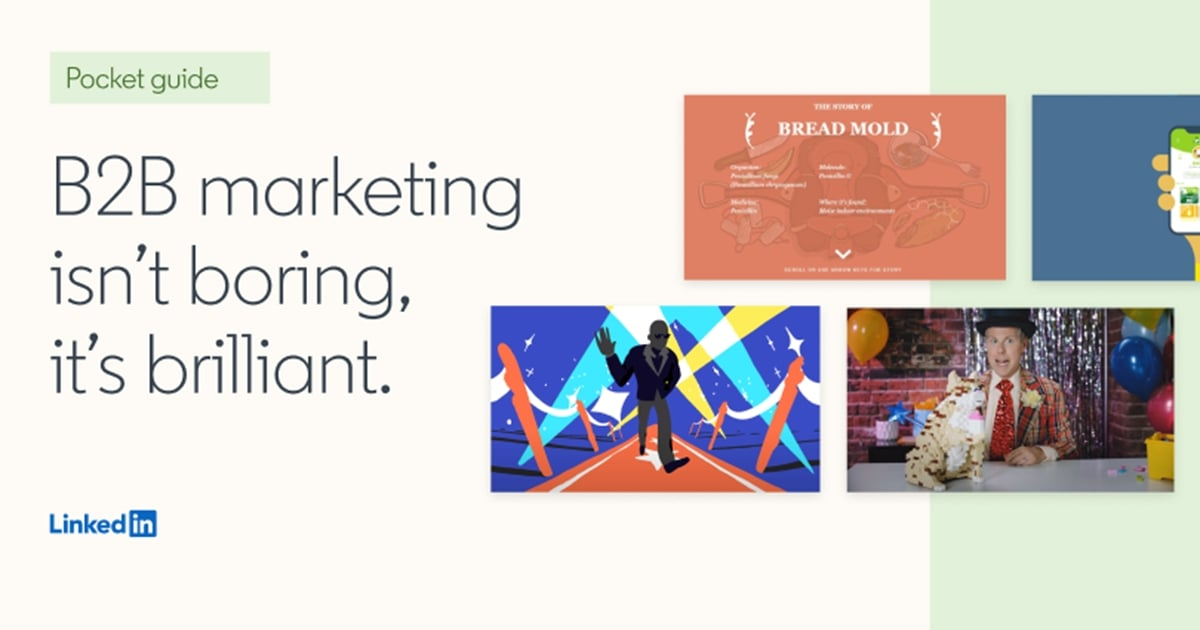 Four Examples of Brilliant B2B Marketing [Infographic]