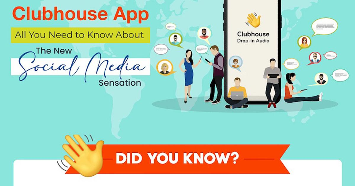 What Marketers Need to Know About Clubhouse [Infographic]