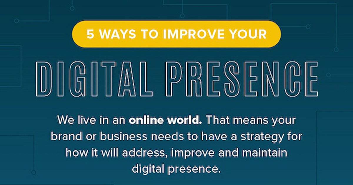 Five Tips for Improving Your Digital Presence [Infographic]