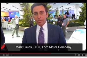 Ford CEO Mark Fields: Interactive Online Experiences Key to Car Sales [Video]