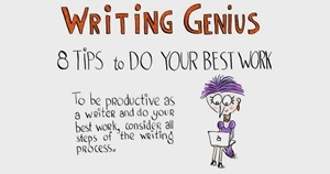 Image for 8 Tips for Discovering Your Writing Genius [Infographic]