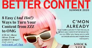 Image for 8 Sizzling Content Tactics to Steal From Women's Magazines [Infographic]