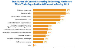 Technology Content Marketers' Priorities