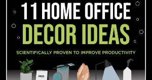 11 Home Office Decor Ideas to Improve Productivity