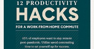 12 Work-From-Home Productivity Hacks