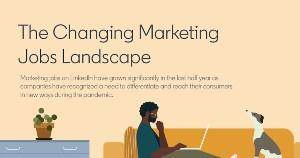 LinkedIn Data: The Changing Marketing Jobs Landscape