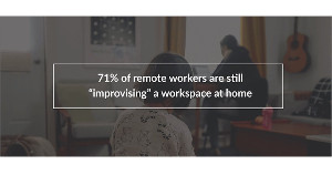 Working From Bed: The State of Home Workspaces in 2021