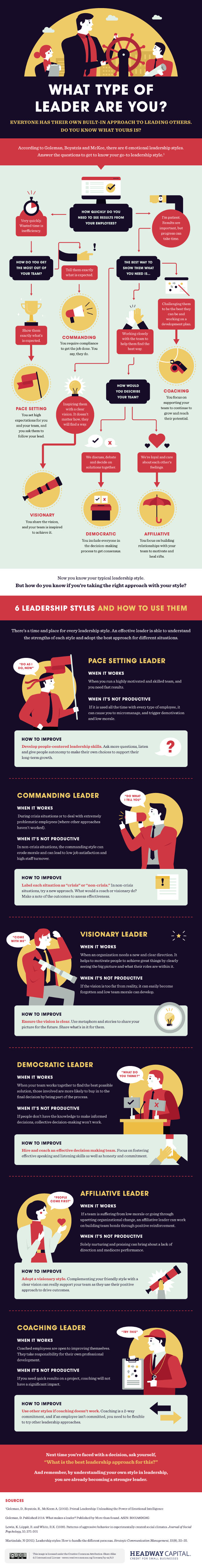 Career Management - What Type of Leader Are You