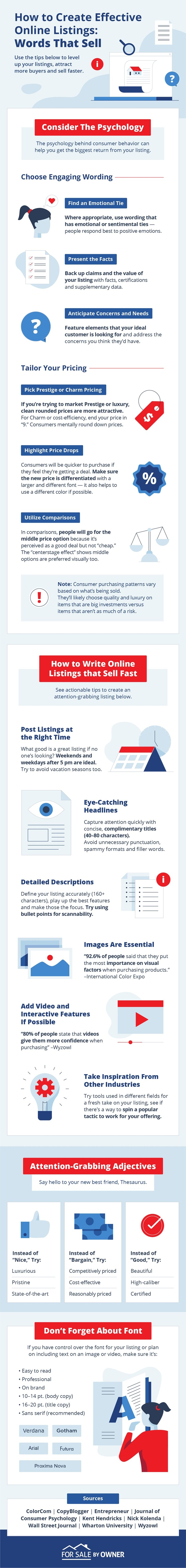 Tips for Online Listings That Grab Attention and Generate Sales [Infographic] : MarketingProfs Article 1