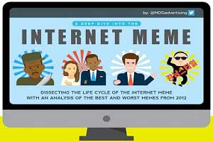Dissecting Internet Memes: The Most Viral Memes of 2012 [Infographic]