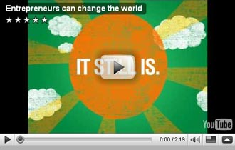 Entrepreneurs Can Change the World