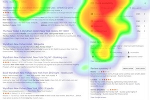 Eye-Tracking Study: How Consumers View Google Search Results for Hotels