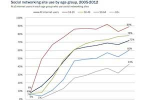 Who Uses Social Networks: Age, Race, and Income Breakdown