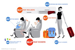 Consumers' Top Travel Stresses and Pet Peeves