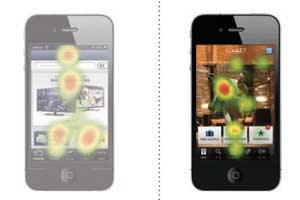 Eye-Tracking Study: How Consumers Use Mobile Apps
