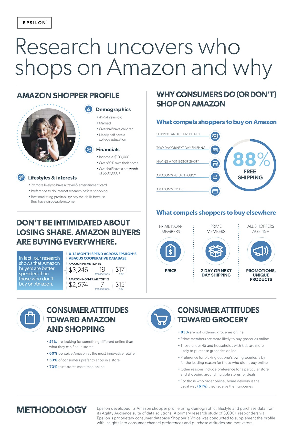 Amazon Shopper Demographics and Motivations