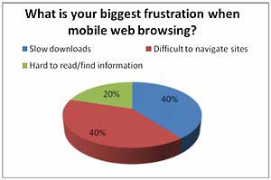 Smartphone Users Frustrated With Mobile Web Experience