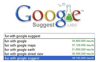 What Google Suggest Suggests