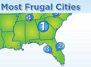 Most Frugal US Cities: Atlanta, Orlando, and Tampa