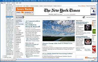 36% of Internet Users Visit Newspaper Sites