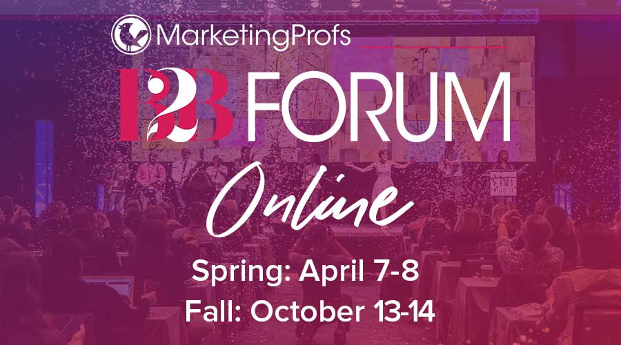 MarketingProfs B2B Forum Online