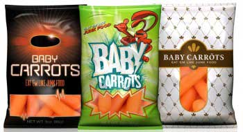 Marketing Baby Carrots: Cool, Crisp & Conveniently Packaged