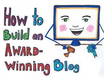 Build an Award-Building Blog in Less Than a Year [Visual Sketchnotes]