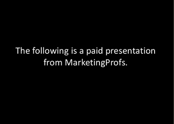 The First SlideShare Informercial for B2B Marketers [Slide Show]