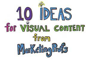 10 Ideas for Visual Content [Infodoodle]