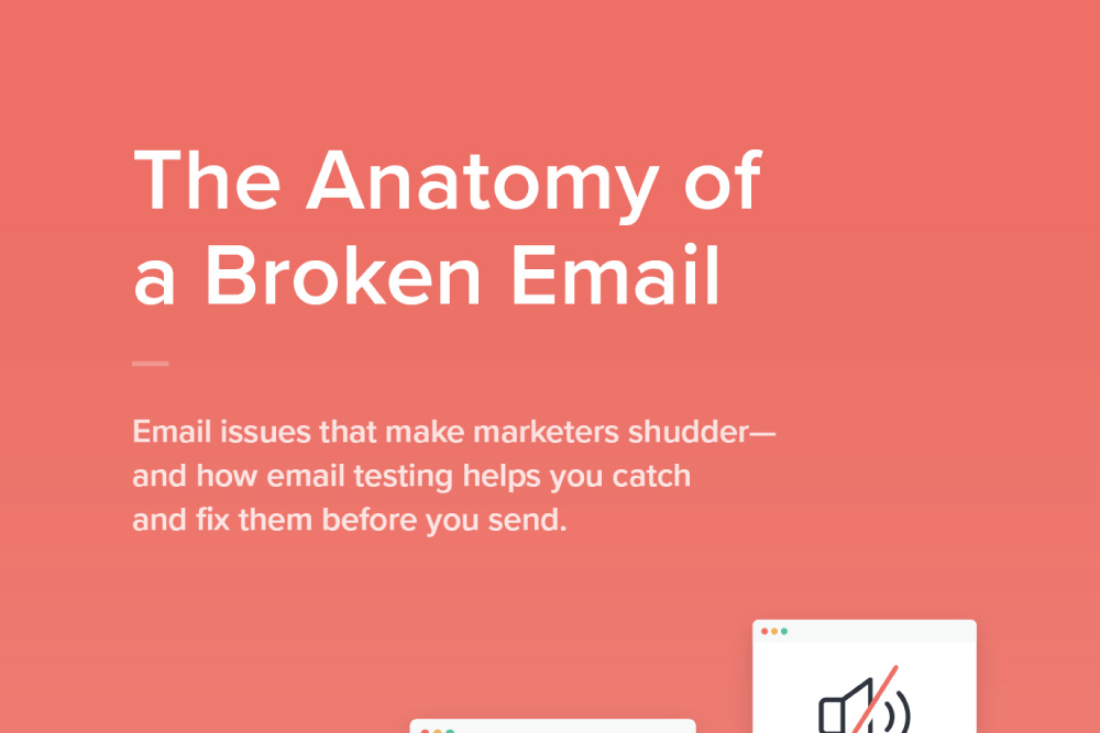 The Anatomy of a Broken Email