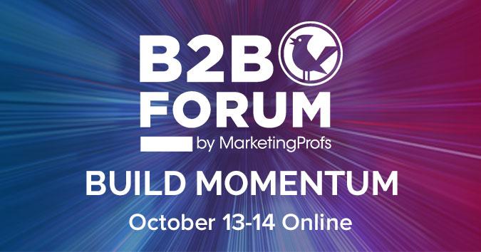 The B2B Forum Fall Program is Here