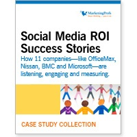 case studies social media roi